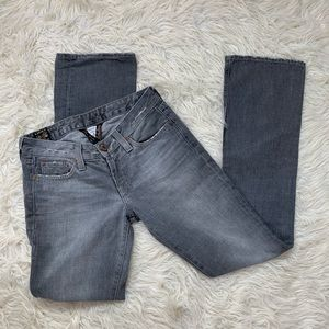 Lucky Brand Gray Lola Boot Jean 4/27